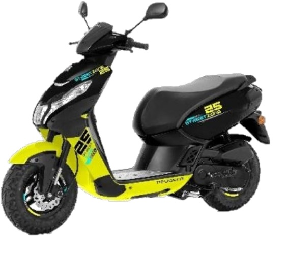 STREETZONE 2T 12 NAKED   Peugeot Scooters Réunion